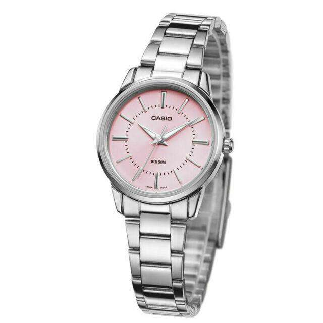 Casio LTP-1303D-4AVDF Silver Stainless Steel Strap Watch for Women