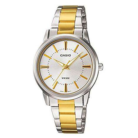 Casio Vintage LTP-1303SG-7AVDF Two Tone Watch For Men & Women