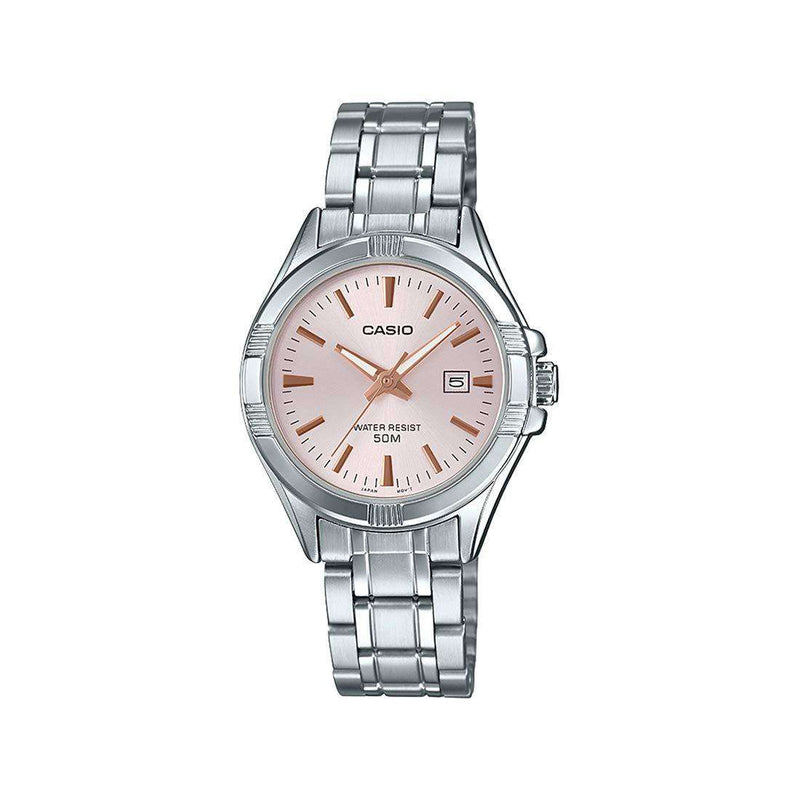 Casio LTP-1308D-4AVDF Silver Stainless Steel Strap Watch for Women