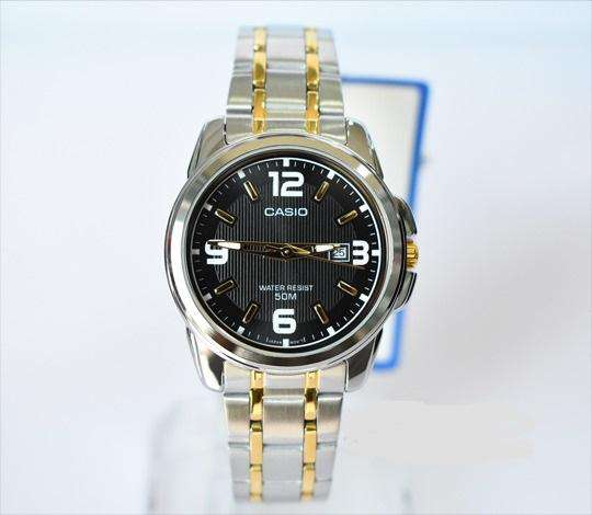 Casio LTP-1314SG-1AVDF Two Tone Stainless Steel Strap Watch for Women