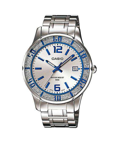 Casio LTP-1359D-7AVDF Silver Stainless Steel Strap Watch for Women