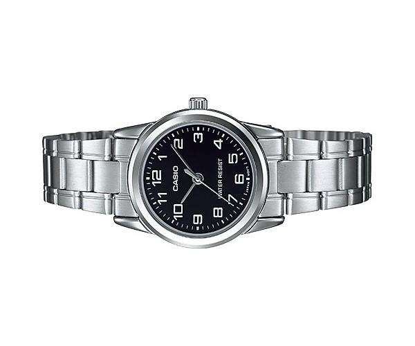 Casio LTP-V001D-1B Silver Stainless Watch for Women