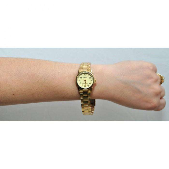 Casio LTP-V001G-9B Gold Plated Watch for Women