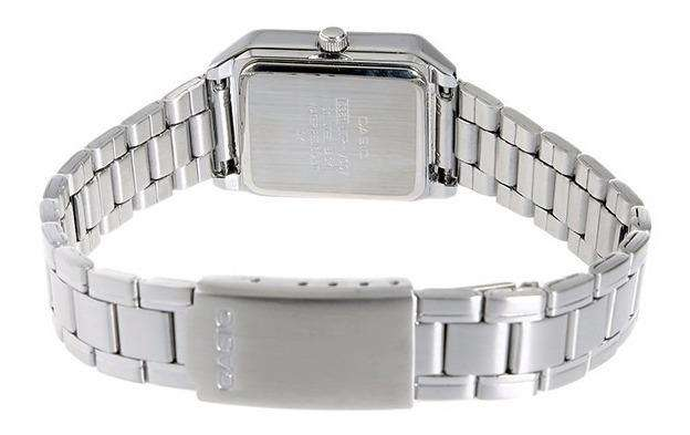 Casio LTP-V007D-1E Silver Stainless Watch for Women