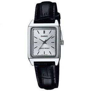 Casio LTP-V007L-7E1 Black Leather Watch for Women