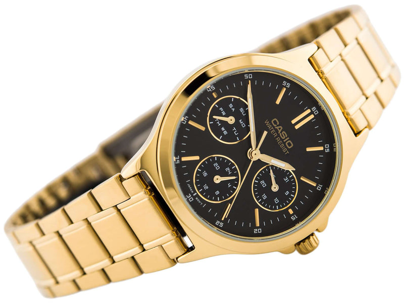 Casio LTP-V300G-1A Gold Plated Watch for Men and Women