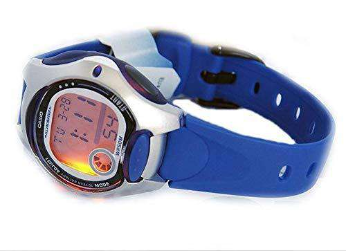 Casio Standard LW-200-2A Blue Resin Strap Watch for Women