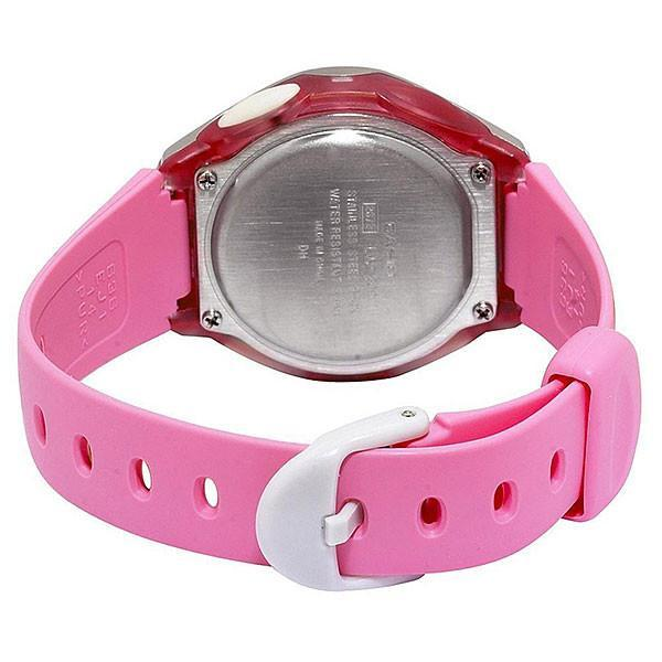 Casio Standard Unisex Pink Resin Strap Watch- LW-200-4B (One Size)- For Men and Women - Watchportal Philippines