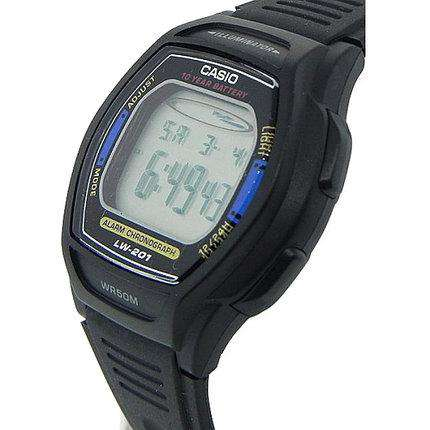 Casio LW-201-2AVDF Black Resin Strap Watch for Women
