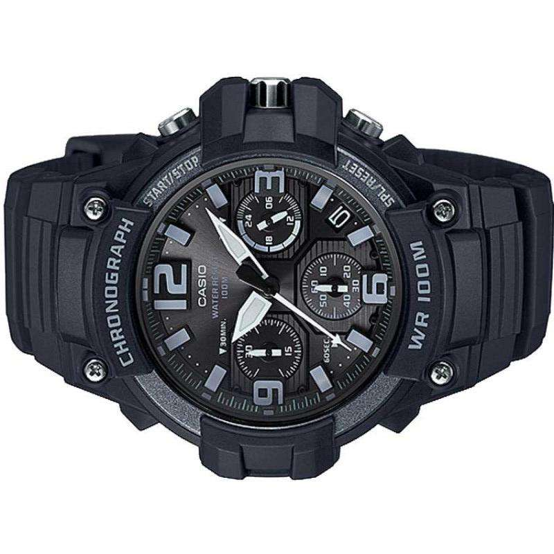 Casio MCW-100H-1A3VDF Black Resin Strap Watch for Men