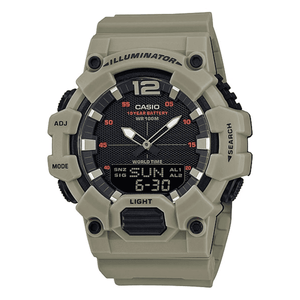 Casio HDC-700-3A3VDF Army Green Resin Watch for Men