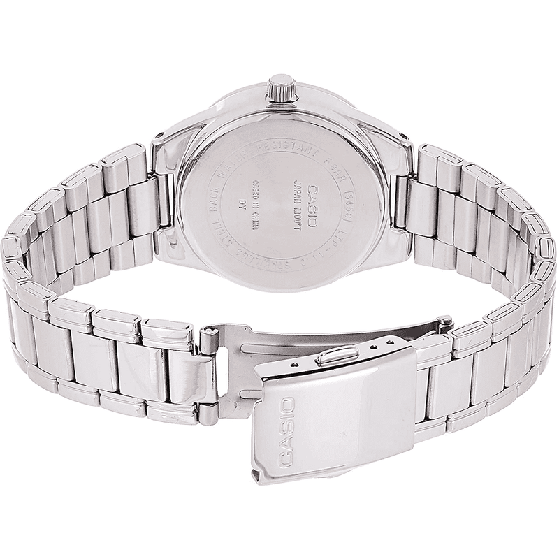 Casio LTP-1410D-1A2 Silver Stainless Watch for Women