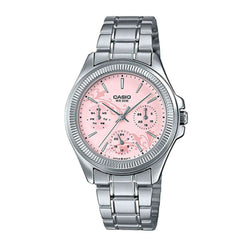 Casio LTP-2088D-4A Silver Stainless Watch for Women