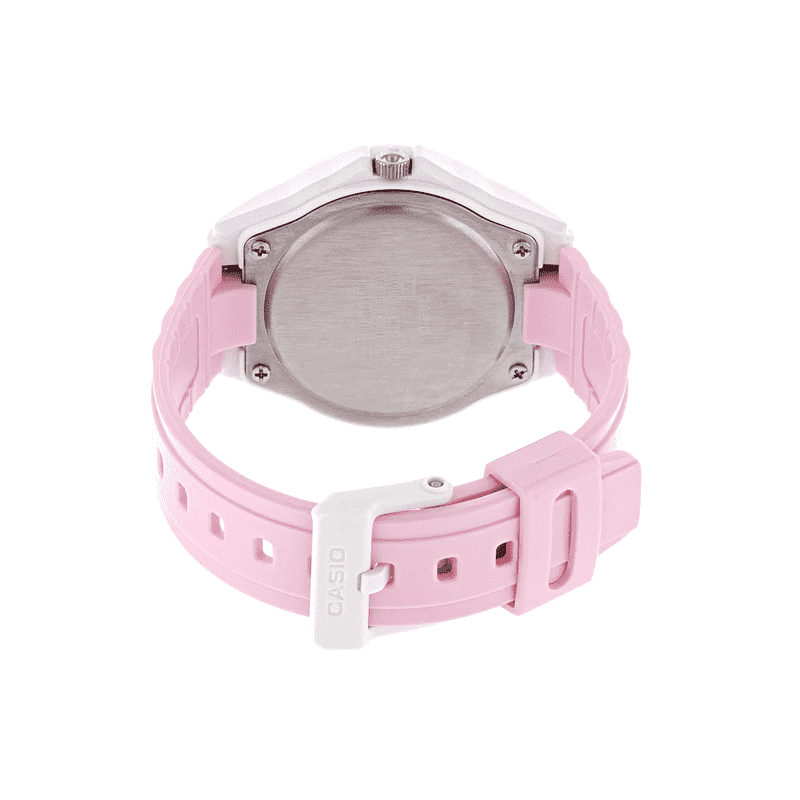Casio LX-500H-4E5VDF Pink Resin Watch for Women
