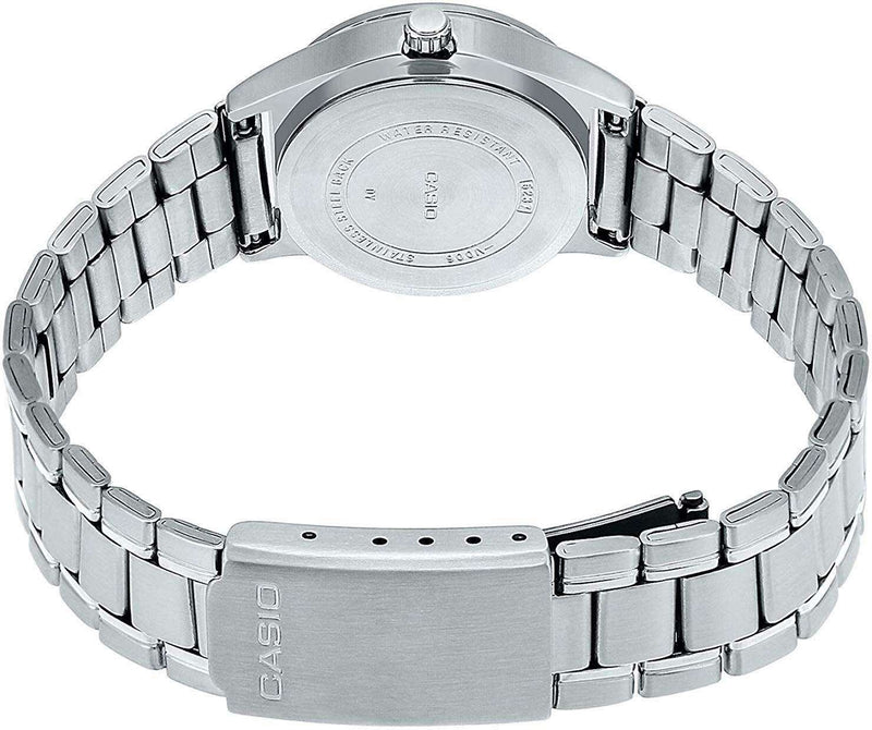 Casio MTP-V006D-2B Silver Stainless Watch for Men