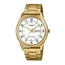 Casio MTP-V006G-7B Gold Stainless Watch for Men