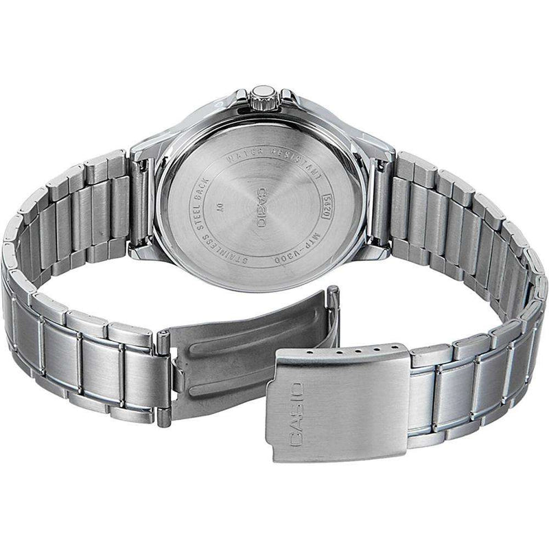 Casio MTP-V300D-3A Silver Stainless Watch for Men