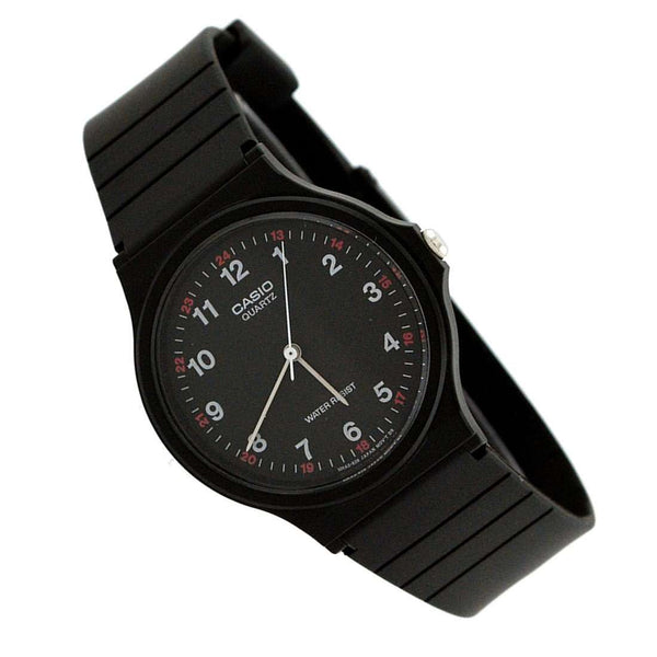 Casio MQ-24-1BLDF Black Resin Strap Unisex Watch