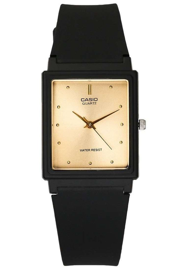 Casio MQ-38-9ADF Analog Black Resin Strap Unisex Watch