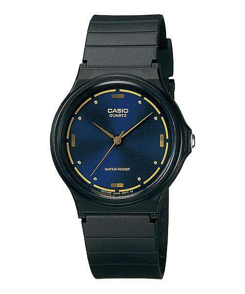 Casio MQ-76-2ALDF Analog Black Resin Strap Watch for Men