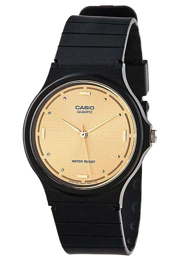 Casio MQ-76-9ALDF Analog Black Resin Strap Unisex Watch