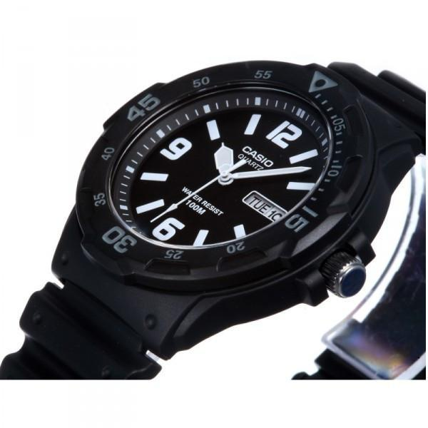 Casio MRW-200H-1B2 Black Resin Strap Watch for Men - Watchportal Philippines