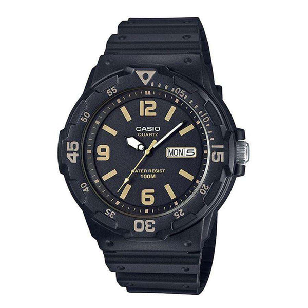 Casio MRW-200H-1B3VDF Analog Black Resin Strap Watch for Men