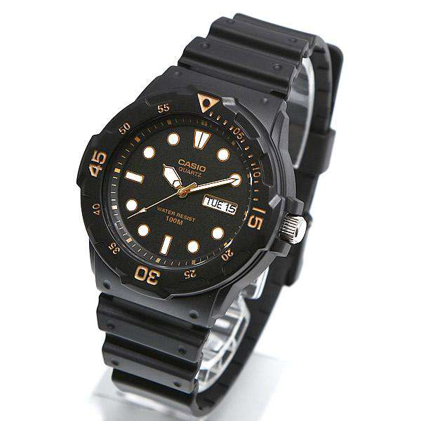 Casio MRW-200H-1E Black Resin Strap Watch For Men