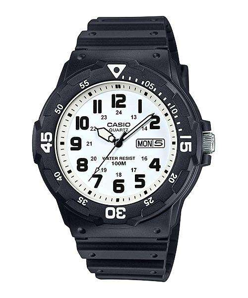 Casio MRW-200H-7BVDF Analog Black Resin Strap Watch for Men