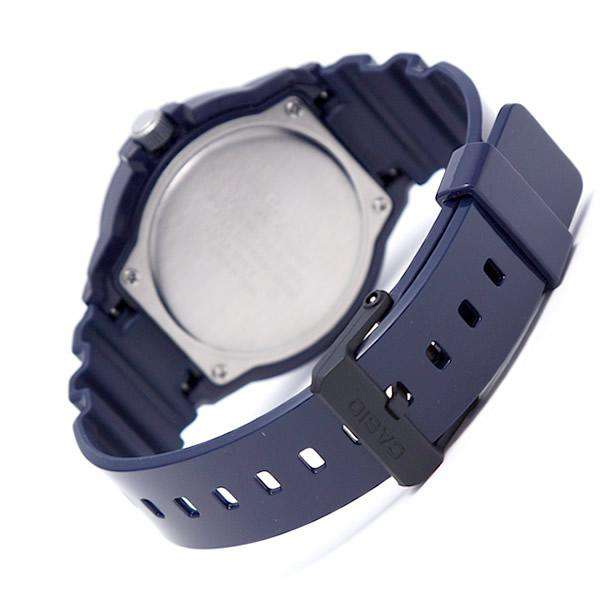 Casio MRW-200HC-2B Blue Resin Strap Watch for Men