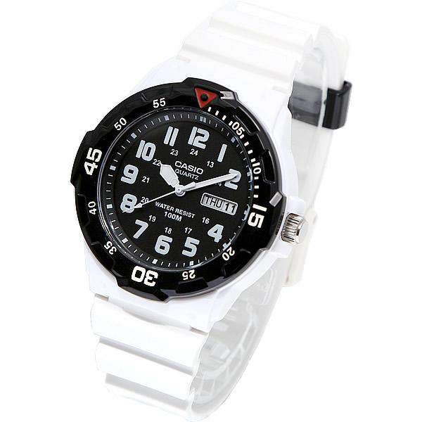 Casio MRW-200HC-7B White Resin Strap Watch For Men