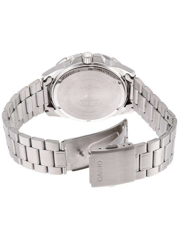 Casio MTD-1069D-1AVDF Stainless Steel Strap Watch for Men