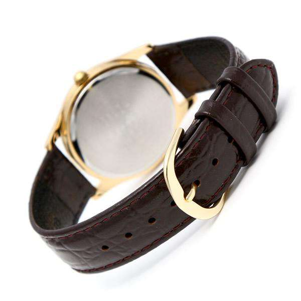 Casio MTP-1094Q-9AD Brown Leather Strap Watch for Men