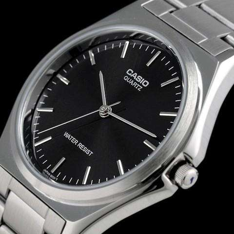 Casio MTP-1128A-1ARDF Silver Stainless Steel Strap Watch for Men