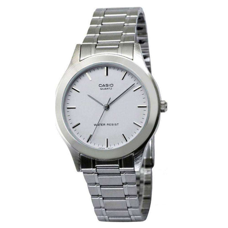 Casio MTP-1128A-7ARDF Silver Stainless Steel Strap Watch for Men