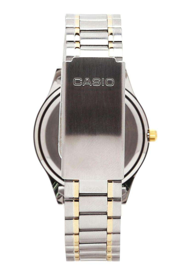 Casio MTP-1128G-9ARDF Two Tone Stainless Steel Strap Watch for Men