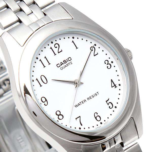 Casio MTP-1129A-7BRDF Silver Stainless Steel Strap Watch for Men