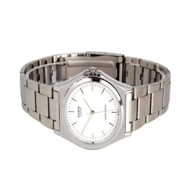 Casio MTP-1130A-7ARDF Silver Stainless Steel Strap Watch for Men