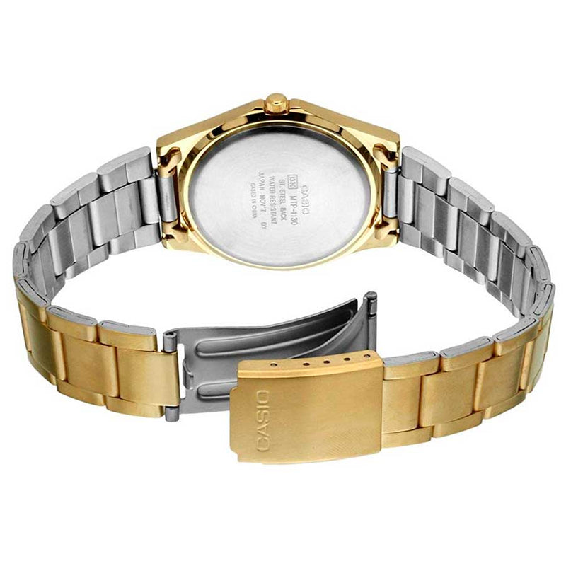 Casio MTP-1130N-1A Gold Plated Watch for Men