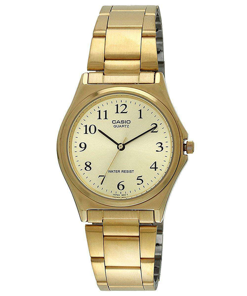 Casio MTP-1130N-9B Gold Plated Watch for Men