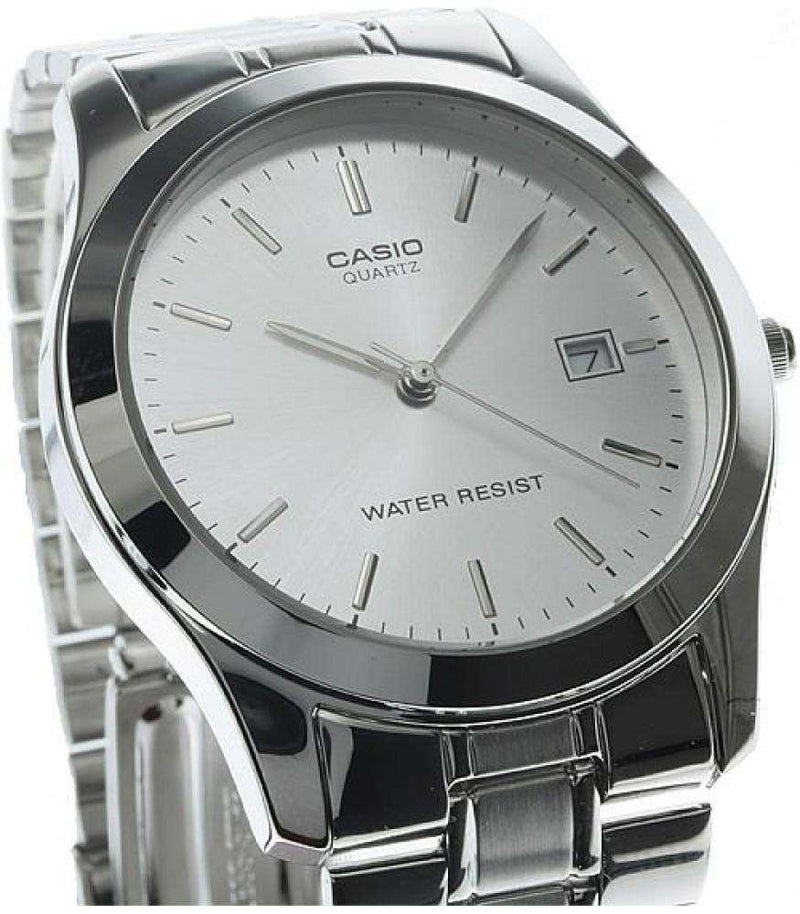 Casio MTP-1141A-7ARDF Silver Stainless Steel Strap Watch for Men