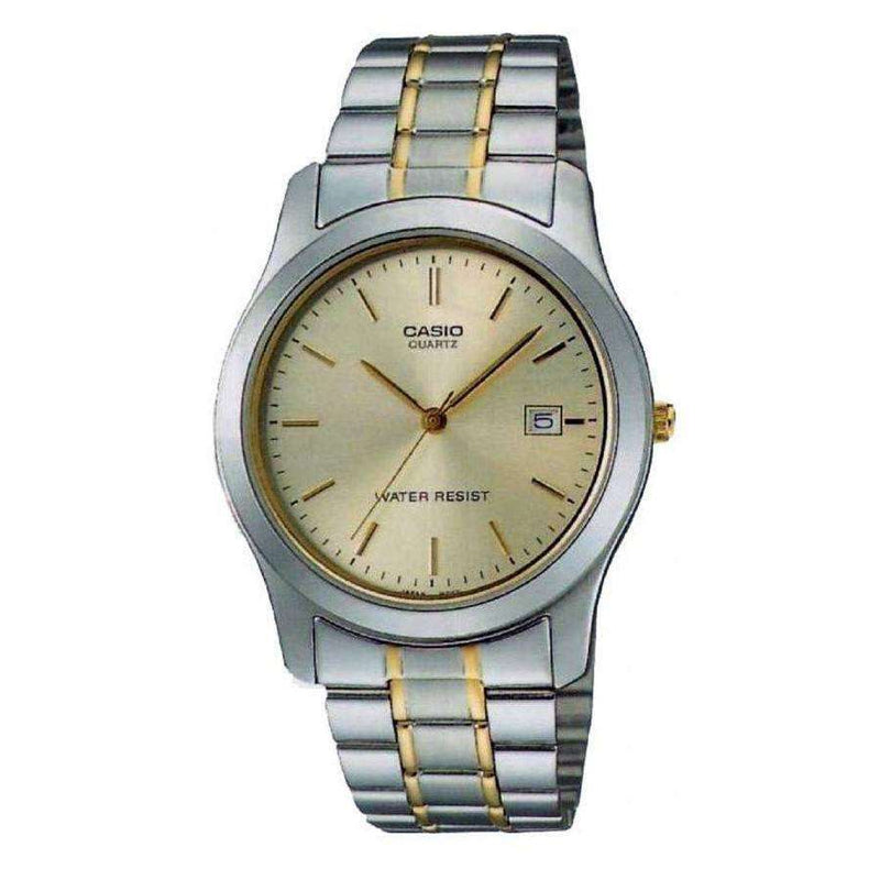 Casio MTP-1141G-9ARDF Two Tone Stainless Steel Strap Watch for Men