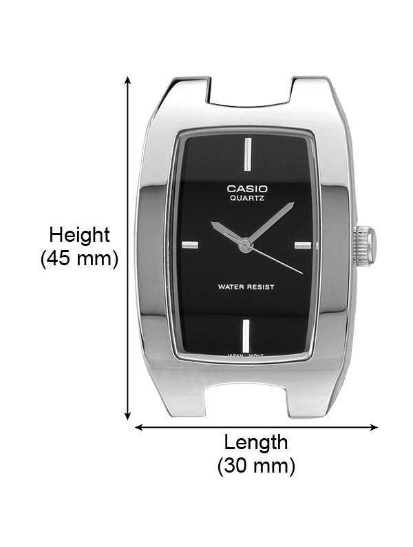Casio MTP-1165A-1C Silver Stainless Watch for Men