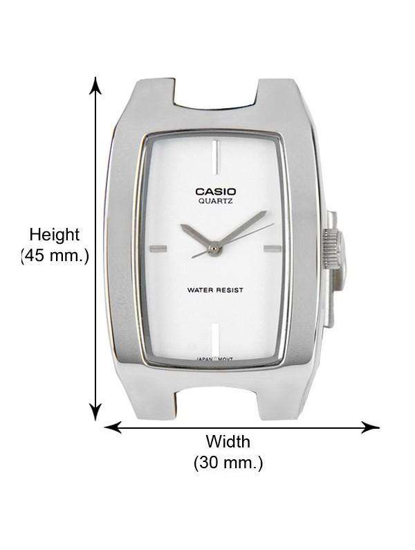 Casio MTP-1165A-7C2 Silver Stainless Watch for Men