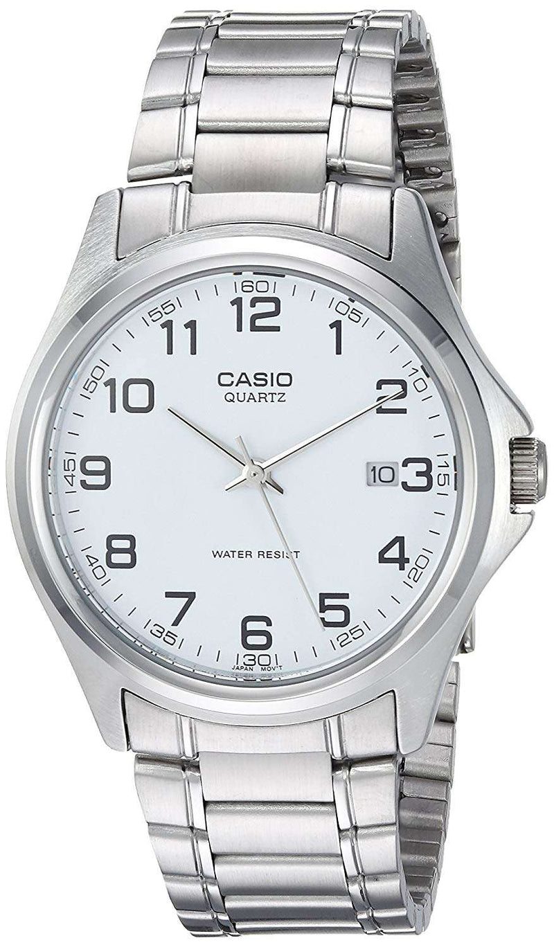 Casio MTP-1183A-7BDF Silver Stainless Steel Strap Watch for Men