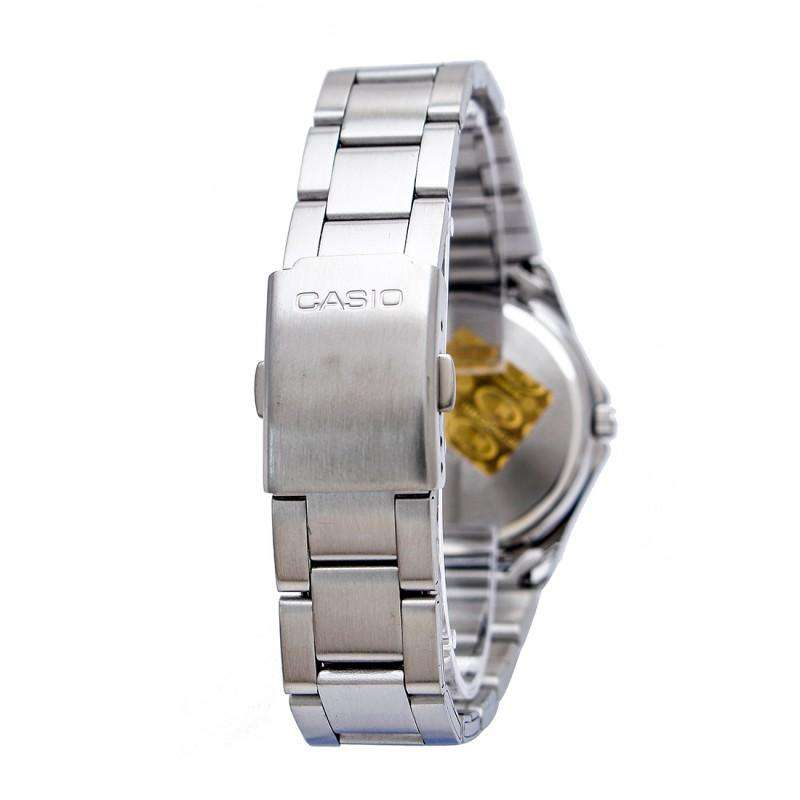 Casio MTP-1213A-1AVDF Silver Stainless Steel Strap Watch for Men