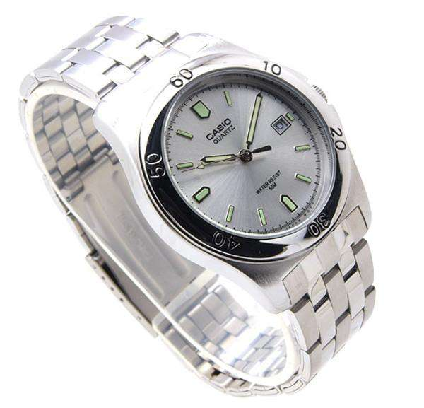 Casio MTP-1213A-7AVDF Silver Stainless Steel Strap Watch for Men