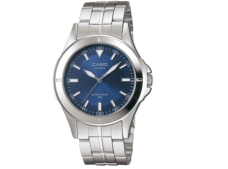 Casio MTP-1214A-2AVDF Silver Stainless Steel Strap Watch for Men