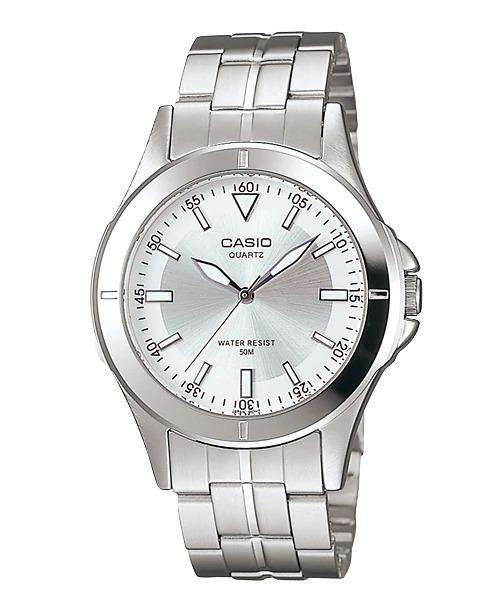 Casio MTP-1214A-7AVDF Silver Stainless Steel Strap Watch for Men