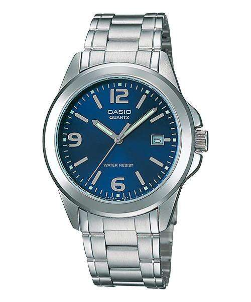 Casio MTP-1215A-2ADF Silver Stainless Steel Strap Watch for Men